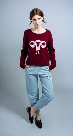 Randy's Reproductive System Sweater