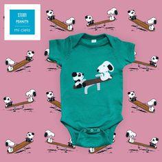 4c638f2973 mi cielo x Snoopy - Seesaw - Baby Bodysuit