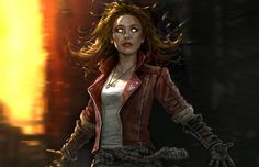 "Scarlet Witch   Marvel Unveils Concept Art for ""Ant-Man"" and ""Avengers: Age of Ultron"""