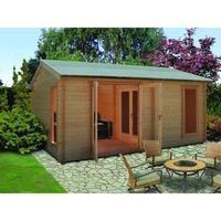 Shire Firestone Log Cabin 12x15ft