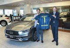 Infiniti se convierte en el coche oficial del Inter de Milán para la temporada…