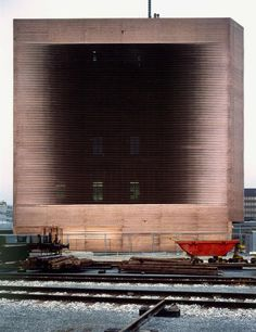 Herzog & de Meuron - Signal Box auf dem wolf, Basel 1994