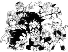 They all love Vegeta. And Piccolo is just like: Gohan walk away