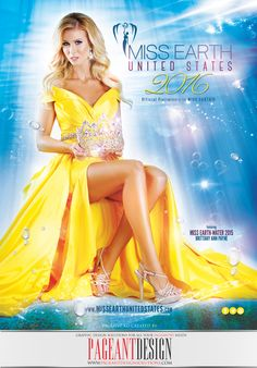 #‎AWESOMEpageantCOVER‬ designed for the official 2016 MISS EARTH UNITED STATES Program Book. Best of luck to all Contestants! #‎PageantDesign‬ Graphic design solutions for all your pageantry needs! Pageant Ads • Pageant Program Books • Websites • Promo Items + more!