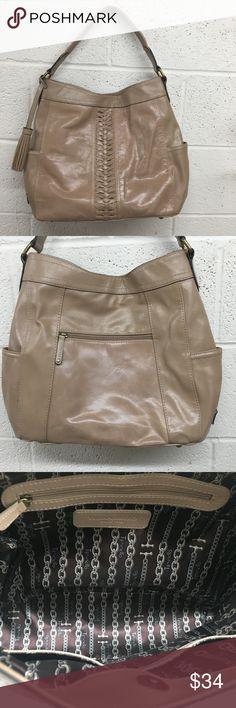 New Large Denim Tote Bag Handmade with John Deere Tractor Brown Checks Fabric