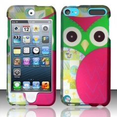 justice ipod cases for girls | Owl Design Hard Cover Case for Apple iPod Touch 5 5th Gen