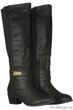 Black Riding Boots | Shop Women's Boots #boots #womensshoes #fashion  Free Standard Shipping!