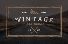 Best Fonts Mega Bundle Vol.2 #bestfonts #megabundle #templates #retroelements #vintagedesign #effects #customfonts