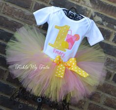 Hey, I found this really awesome Etsy listing at https://www.etsy.com/listing/187628650/pink-lemonade-themed-birthday-tutu