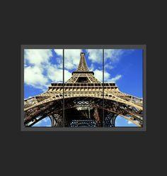 Tryptique de rectangles - Tour Eiffel