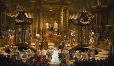 I'm not sure there's much more you can say about the Met Opera's latest production of Turandot after you see that set....wow...