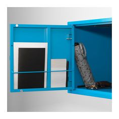 LIXHULT Cabinet - metal/blue - IKEA