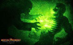 Reptile From Mortal Kombat | mortal kombat reptile wallpaper mk9artwork shadow6 artwork 1920x1200