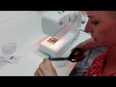 KURZY ŠITÍ- JAK OBKRESLOVAT STŘIHY - YouTube Fabric Stamping, Textiles, Handbag Patterns, Cool Backpacks, Sewing, Youtube, Tips, Scrappy Quilts, Dressmaking