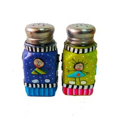Salt and pepper shaker Welcome to my Etsy shop Israeli online shop https://www.etsy.com/shop/MIRAKRIS  A gift for you or for someone you love The price