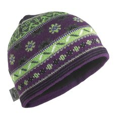 Saami Knit Beanie / Color-Saami Plum
