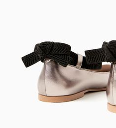 Image 2 of LACE-UP BALLERINAS from Zara