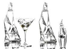 AnestasiA Vodka Bottle Design by Karim Rashid - Las Vegas Top Picks