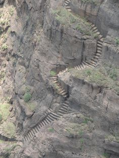 KALAVANTIN DURG, India It looks like the winding stairs from LOTR