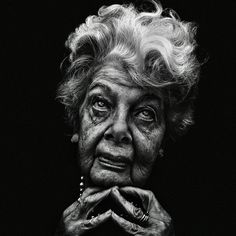 obra de Lee Jeffries, un fotógrafo que inmortalizó la gente sin hogar
