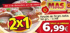 2x1 en Roscón de Reyes, ¿aún no has aprovechado esta oferta? ¡Qué no se te pase!   Hasta el 5 de Enero de 2013