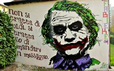 Fabieke - Why So Serious? #streetart in Castel Maggiore, Italy