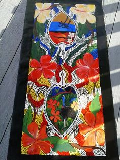 Patricia Mabb Acrylic Artist #FeatureArtist #ArtCloud #AboriginalArt