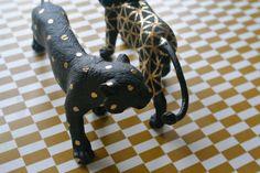 heodeza: DIY gold patterned beasts