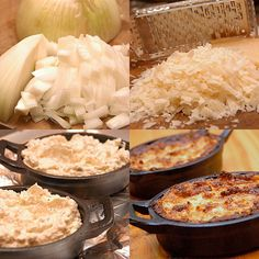 Sweet Onion Dip w/ Walla Walla Sweets, no flour of any kind. Eat it with your favorite GF crackers, bread or even veggies. Cheese Dip Recipes, Onion Recipes, Raw Food Recipes, Gourmet Recipes, Appetizer Recipes, Appetizers, Onion Dip, Walla Walla, Dips
