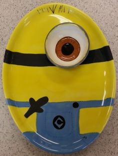 Minion if you please! Small bowl is not fusing to the plate.