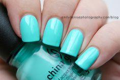 China Glaze – Too Yacht To Handle ( three coats) #nail #nails #nailpolish