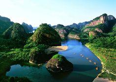 Wuyuan est un district administratif de la province du Jiangxi, Chine, le plus beau village ancien de la Chine.