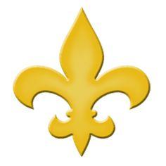 Fleur De Lis Step Marker - Yellow (Set of 3)