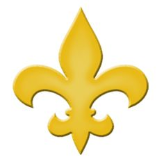 Fleur De Lis Step Marker - Yellow (Set of 3)