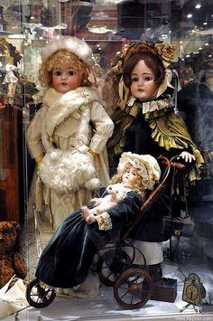 Gorgeous antique dolls