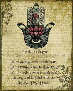 Hamsa Prayer ..*                                                                                                                                                     More