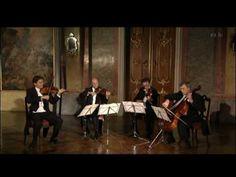 Franz Schubert: Der Tod und das Mädchen (string quartett nr 14, d-minor D 810); performance: Gewandhausquartett