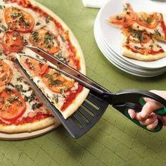 Invenzioni folli, taglia pizza vassoio