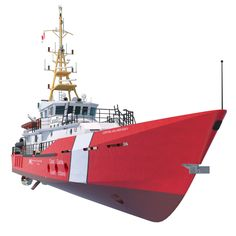 Hero Class Canadian Coast Guard Obj - 3D Model