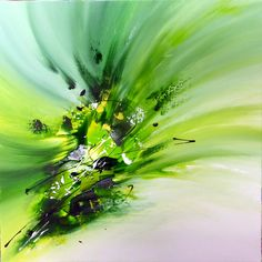 abstract painting by Sandra Dürr - real-ART