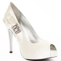Wedding Shoes #wedding_shoes Heels I Love #heels #wedding #shoes #high_heels #white #love   Orli Pump - Ivory, Martinez Valero,