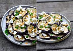 twin-food.dk auberginesalat-med-honning-feta-og-cashewnoedder