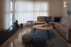 דירת חיל מי ימצא: דירה מעוצבת בנתניה לאם ולשתי בנותיה | בניין ודיור