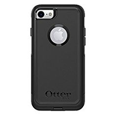 cbe2e4a18f5 OtterBox COMMUTER SERIES Case for iPhone 8 & iPhone 7 (NOT Plus) -  Frustration Free Packaging - BLACK