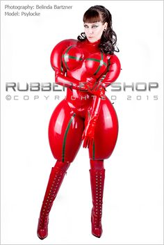 Inflated Rubber Doll Catsuit