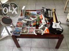 Nintendo Wii with rockband