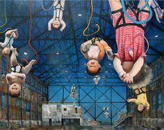 bungee-jumping babies