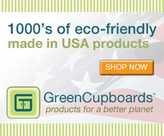 Thosands of eco friendly products #madeinusa products from @greencupboards