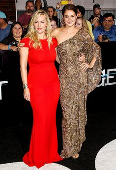 Kate Winslet and Shailene Woodley are knockouts at the L.A. premiere of 'Divergent' on Mar 18