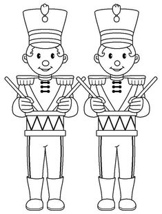 This cheerful series of Christmas coloring pages will bring holiday joy to that someone special. Each page is filled with fun that can be brought to life with color. Christmas Yard Art, Christmas Store, Christmas Colors, Christmas Crafts, Printable Christmas Coloring Pages, Free Christmas Printables, Christmas Templates, Nutcracker Sweet, Nutcracker Christmas